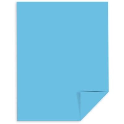 Cardstock, 65lb, Letter Lunar Blue, Single, Astrobright