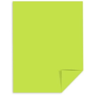 Cardstock, 65lb, Letter Gamma Green, Single, Astrobright