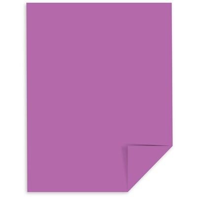 Cardstock, 65lb, Letter Planetary Purple, Single, Astrobright