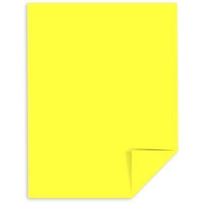 Cardstock, 65lb, Letter Lift Off Lemon, Single, Astrobright