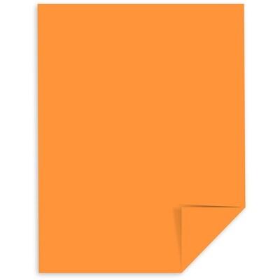Cardstock, 65lb, Letter Cosmic Orange, Single, Astrobright