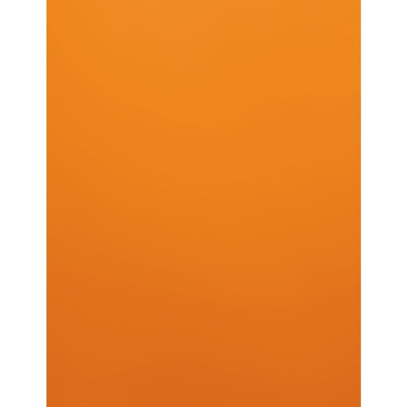 Cardstock, 60lb, Letter Orange, 500 pack, Earthchoice