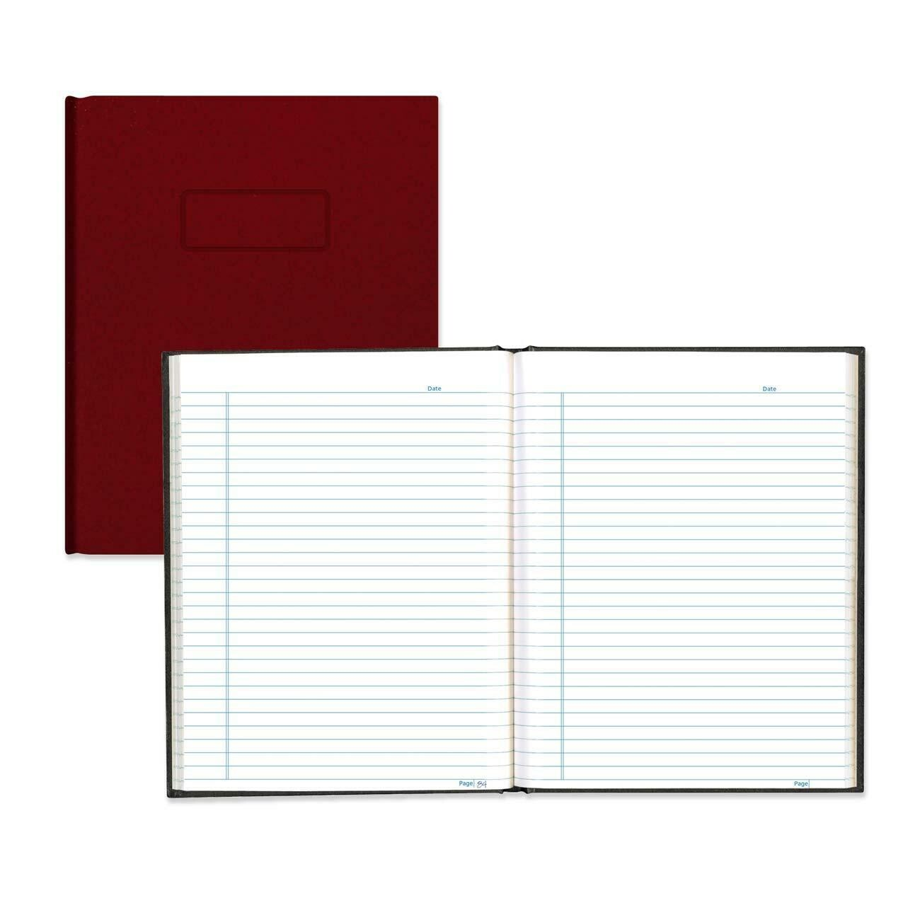 """Composition Book, Lined, Blueline Red, 192 Pages, 9 1/4"""" x 7 1/4"""""""