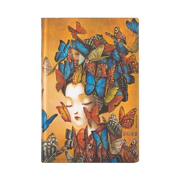 Planner, Weekly, Flexis Madame Butterfly, Mini