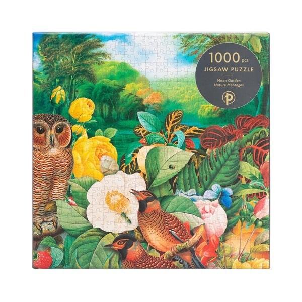 """Puzzle, Moon Garden 1000 Pieces, 20"""" x 27.5"""""""