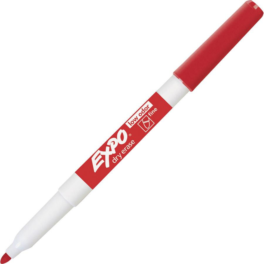 Marker, Whiteboard, Fine Red, Single, Expo