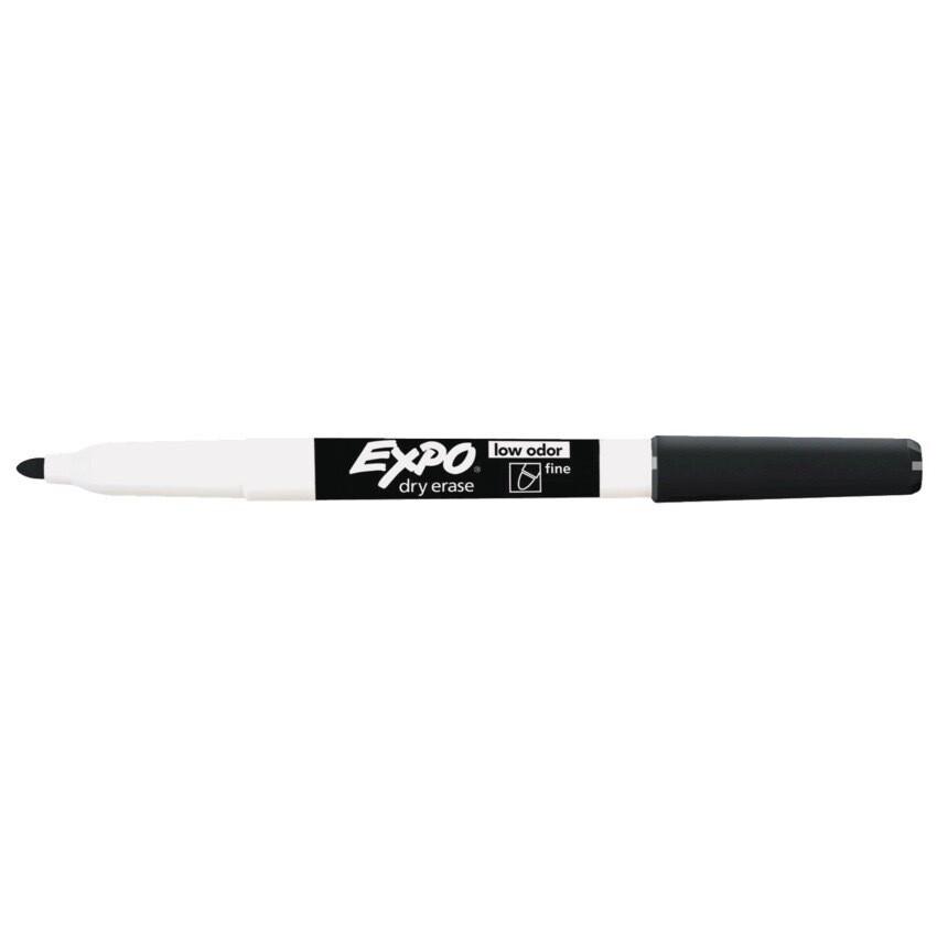Marker, Whiteboard, Fine Black, Single, Expo