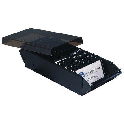 Business Card Holder, Box 600 Card, Westcott