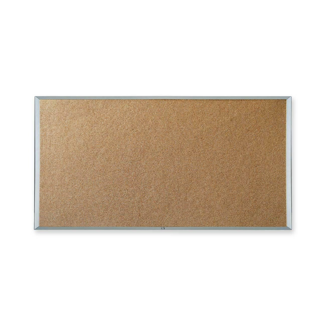 "Corkboard, 24"" x 36"" Aluminum Frame, Quartet"