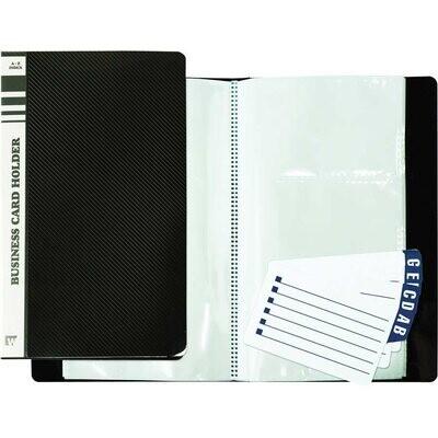 Business Card Holder 120 Card Binder
