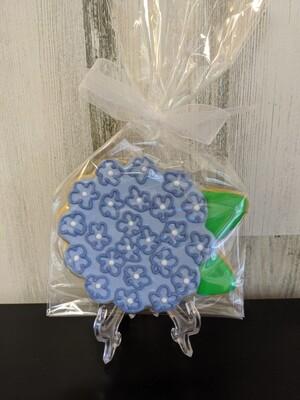 Hydrangea Cookie Favor