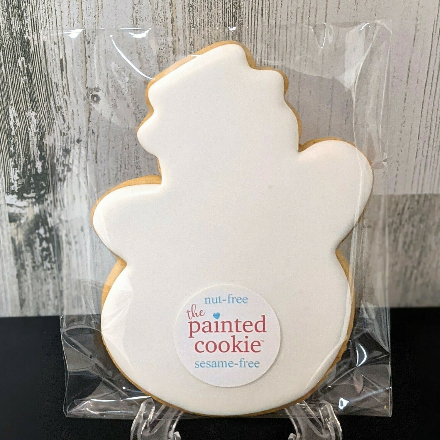 Snowman Coloring Cookie