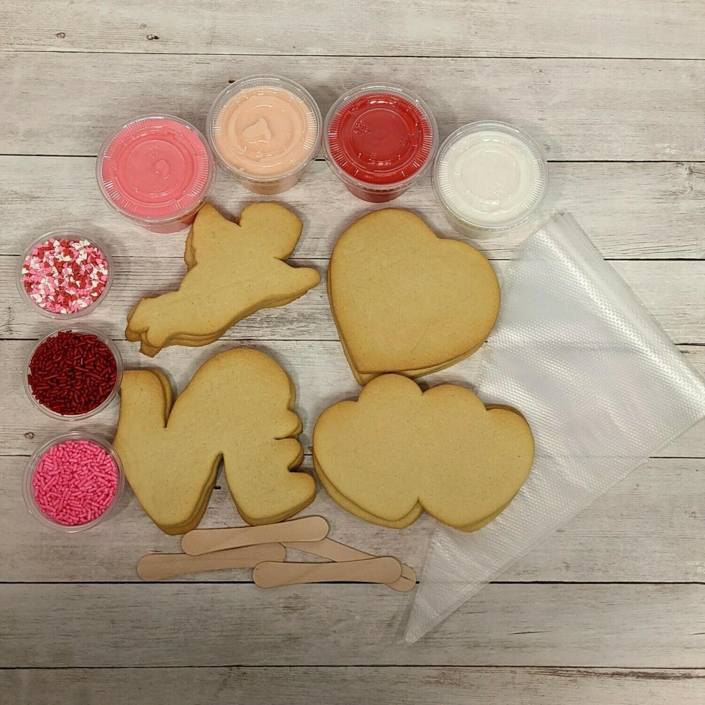 Valentine Decorate-A-Cookie Set