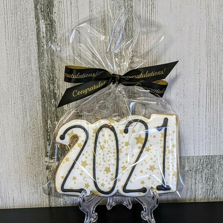 2021 Congratulations Cookie Favor