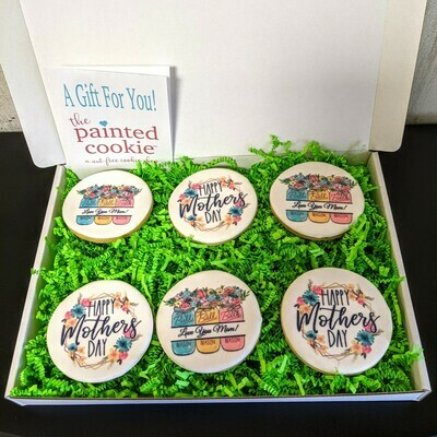 Mother's Day Personal Message Cookie Gift Set