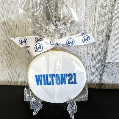 Wilton 2021 Class Logo Cookie Favor