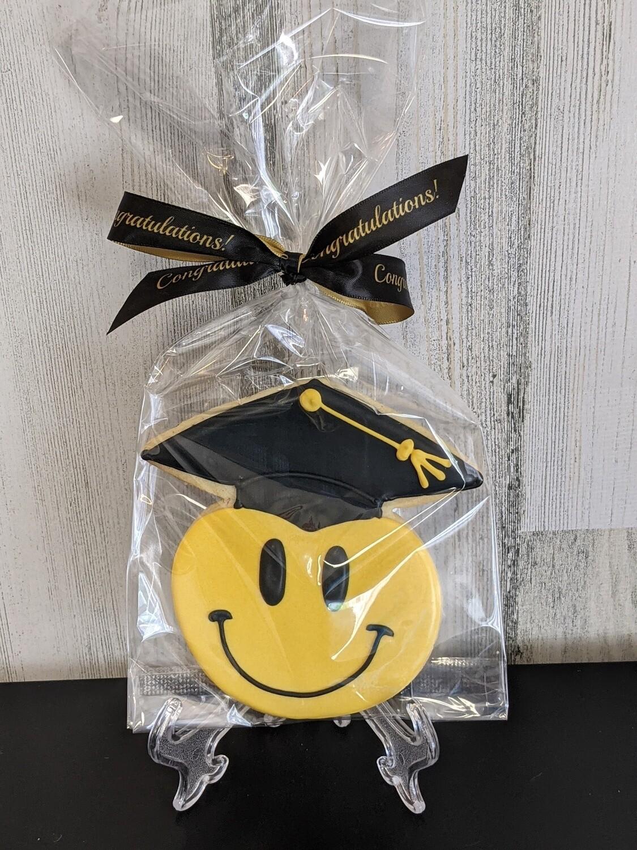 Smile Grad Cookie Favor