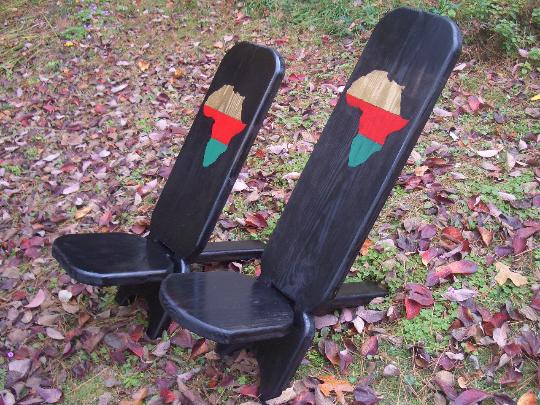 African Senufo chair