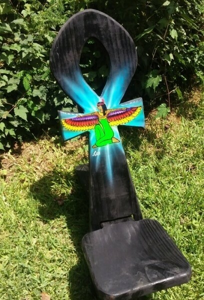 Ankh with Maat