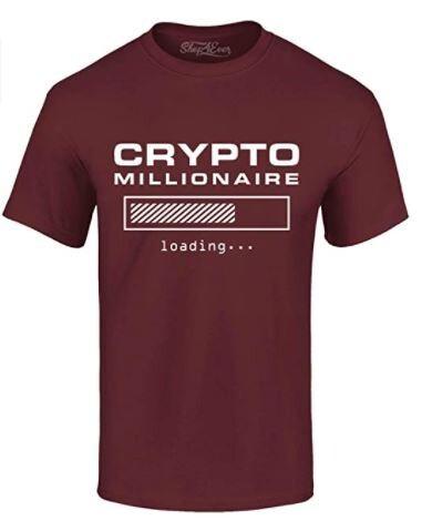 Crypto Millionaire Loading… T-Shirt
