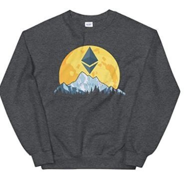 Selloria E.t.h.e.r.e.u.m Giant Moon Sweatshirt, E.t.h.e.r.e.u.m Sweater,