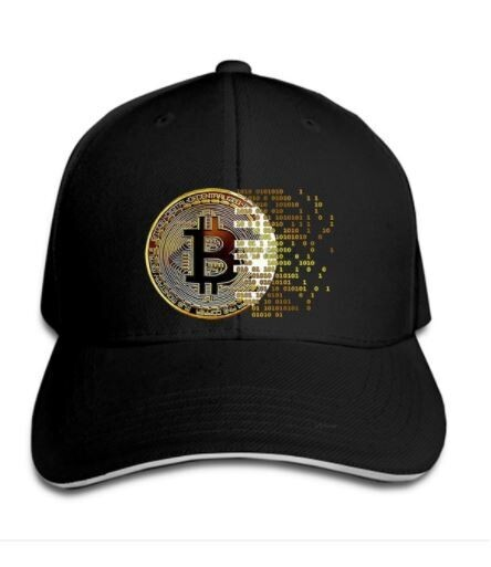 Baseball cap DIGITAL BITCOIN - PREMIUM BITCOIN Baseball caps - Bitcoin Crypto hats