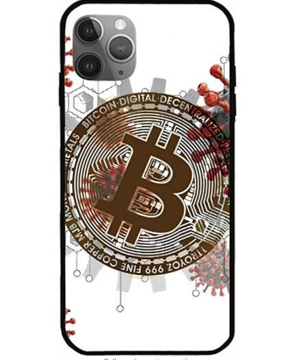 ISHTEE Case Compatible with iPhone Cryptocurrency Network Pure Clear Phone Cases