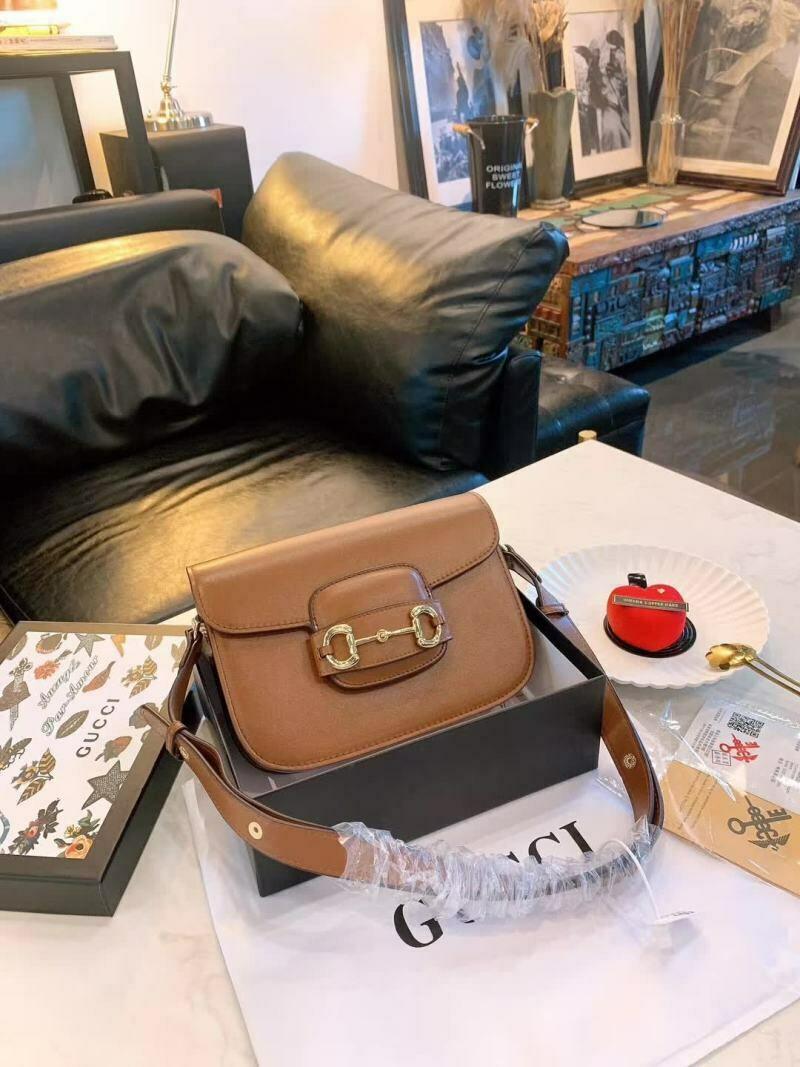 New Brown and Black Bag
