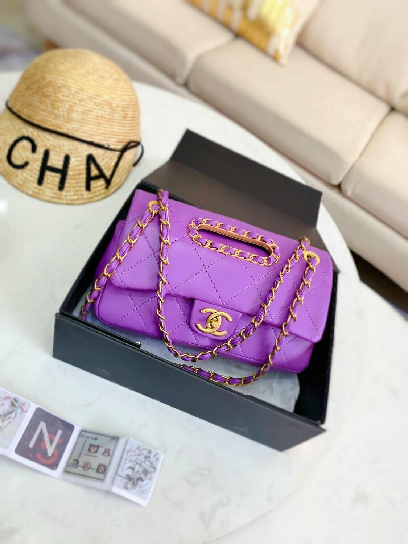 New Multi Color Bag