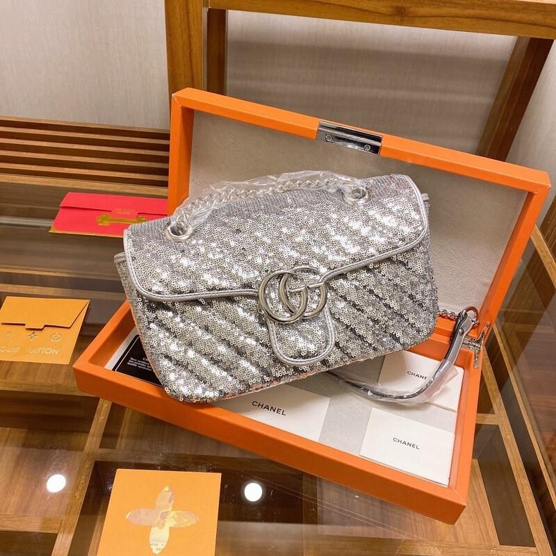 New Design Grey Shoulder Bag