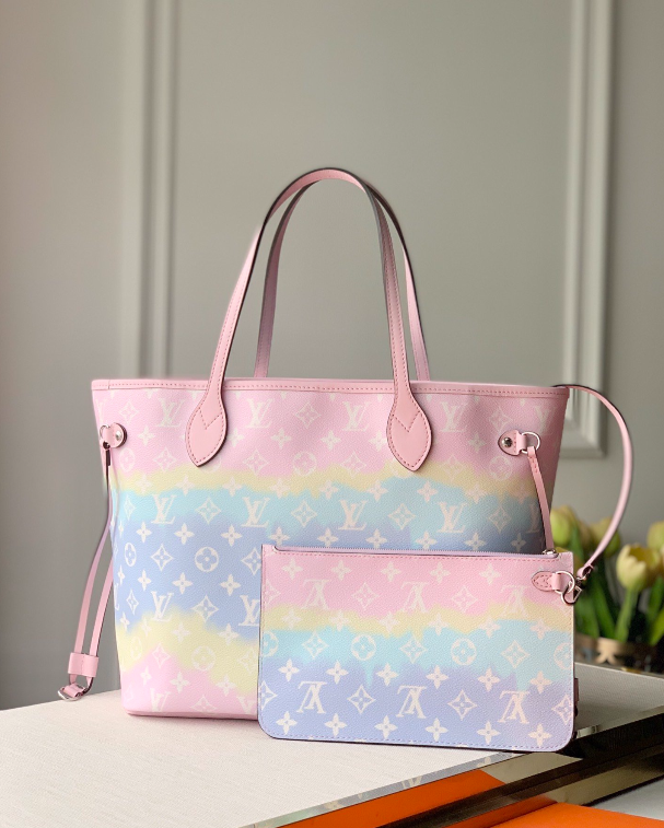 The Pink MM Louis Vuitton For Shopping
