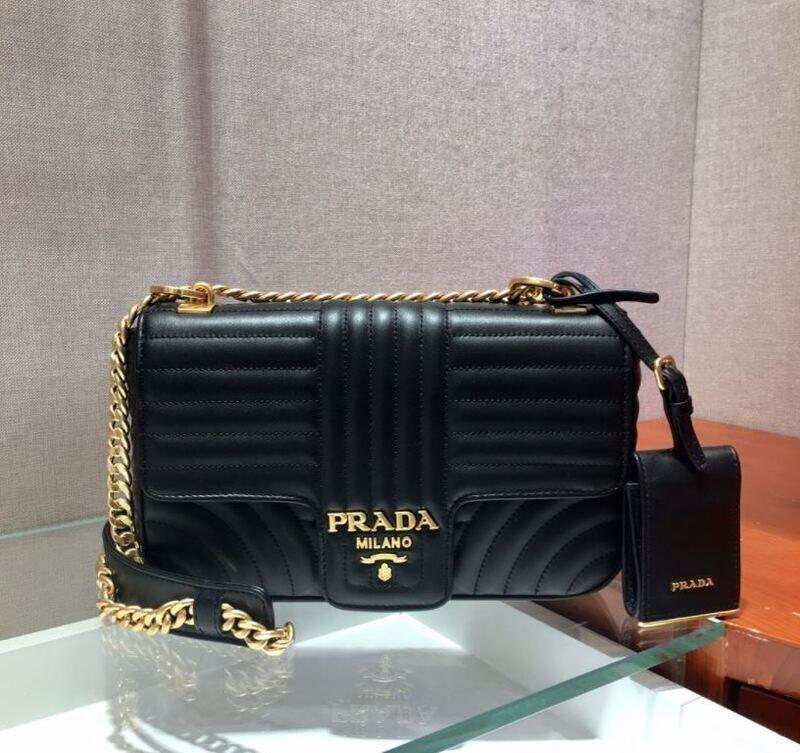 The Black Flap PRADA Bag