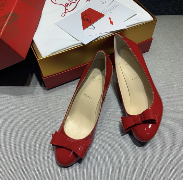 The Red Louboutin Shoes