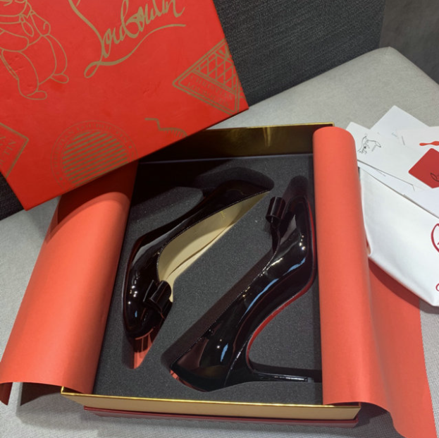 The Black Louboutin Shoes For ladies