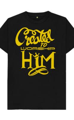 Created-To-Worship-Him T-Shirt