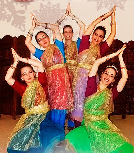 10X - ONLINE LESSONS - Indian Templedance, Adults