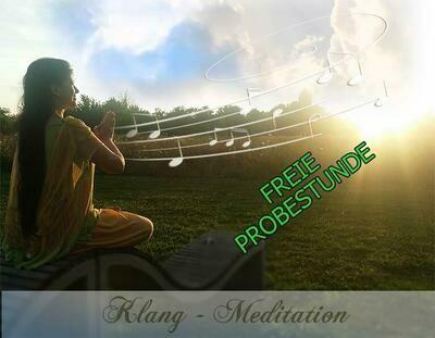 Freie Probestunde - KLANG MEDITATION ONLINE