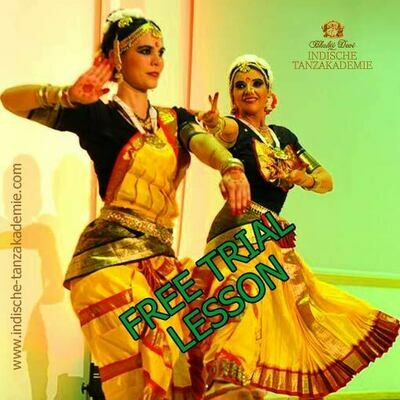Free trial lesson, INDIAN TEMPLE DANCE ONLINE
