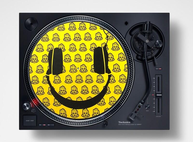 Slipmats / Patinadores DJ - ACIIID !! (pareja)