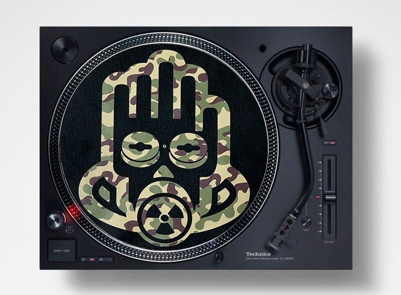 Slipmats / Patinadores DJ - ARMY KAMO (pareja)