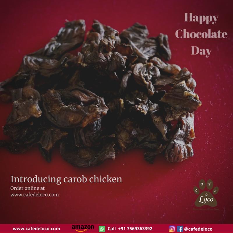 Carob chicken crispies