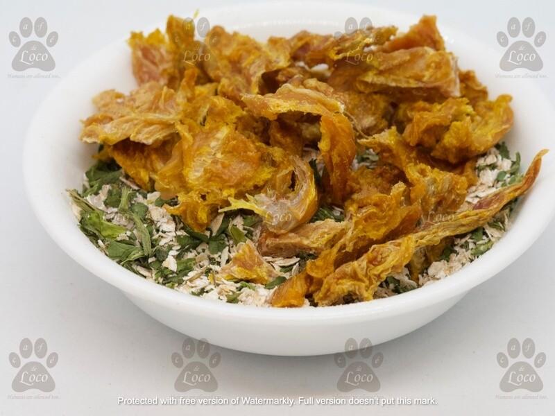 CRUQIDO - Chicken, oats & Spinach