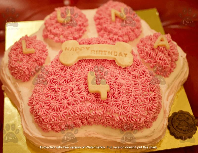 Design Your Own Dog Birthday Cake
