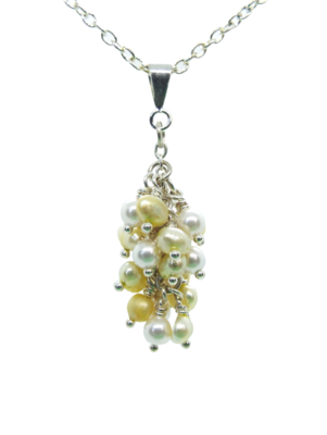 Sunshine Lemon Drop Pearl Pendant