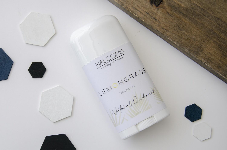Natural Deodorant Lemongrass