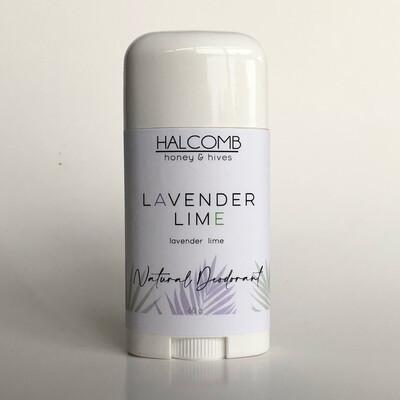 Natural Deodorant  Lavender Lime