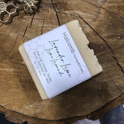 Lavender Lime honey soap