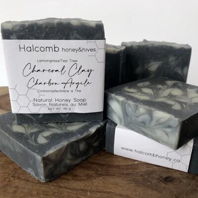 Soap - Charcoal Clay Honey Soap