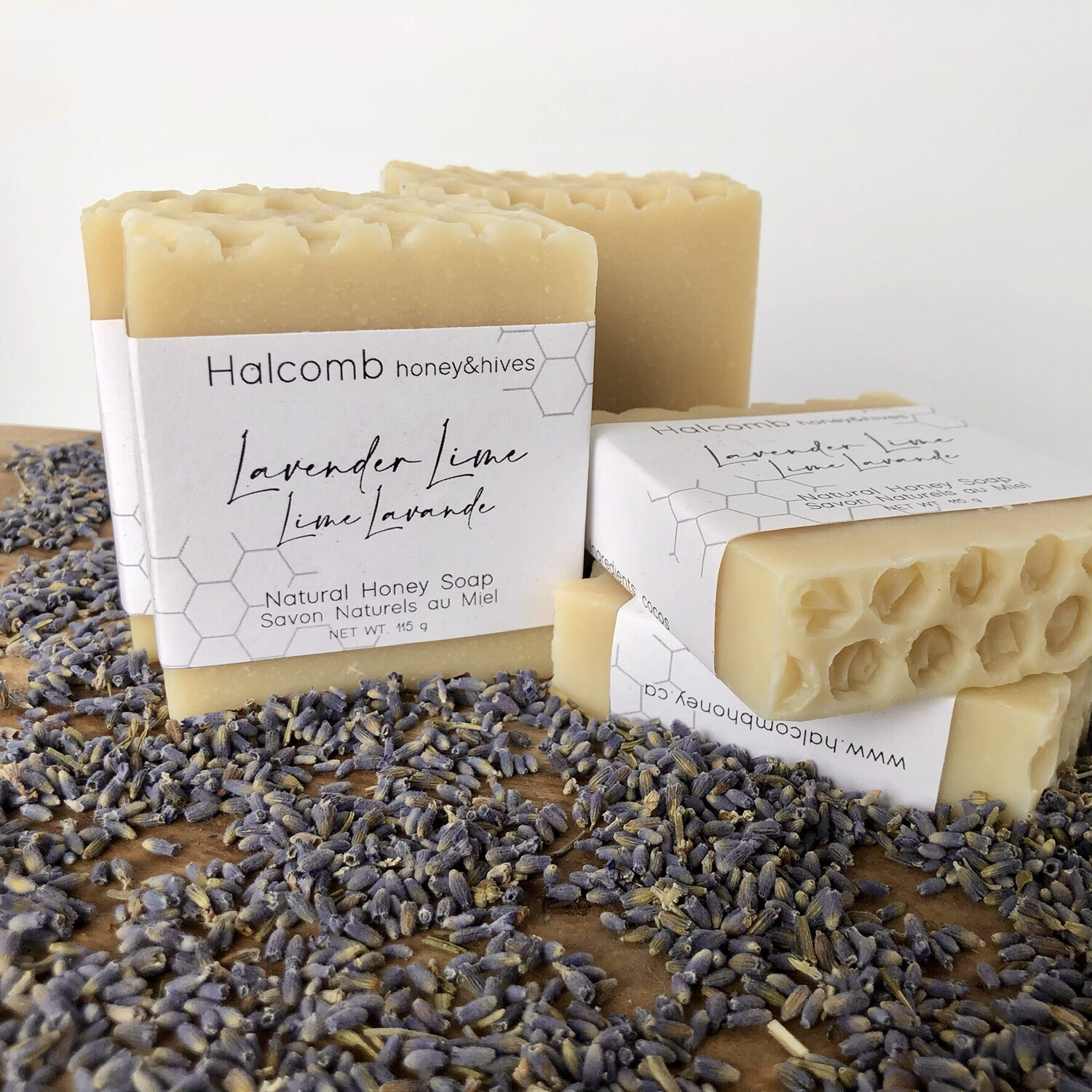 Soap - Lavender Lime Honey soap