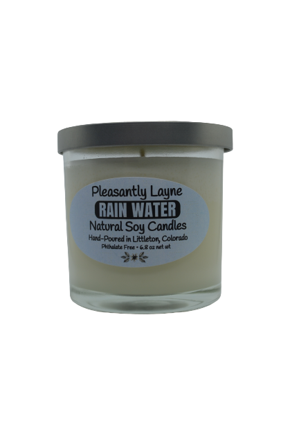 Pleasantly Layne Glass Candle